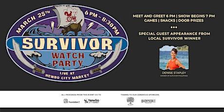 Survivor Watch Party, Live at NewBo City Market tickets