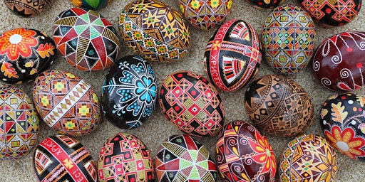 Ukrainian Easter Egg (Pysanka) Decorating Class