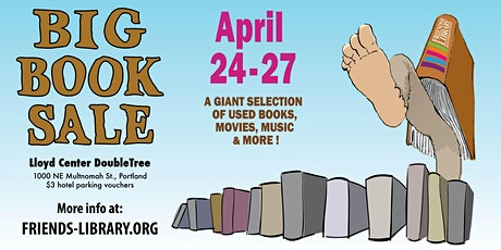 Friends of the Library's Spring Used Book Sale, April 24-27! tickets