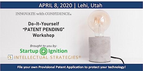 DIY Patent Pending Workshop tickets