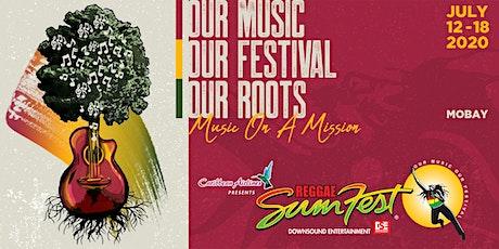 REGGAE SUMFEST 2020 MAIN FESTIVAL  SATURDAY ULTRA-VIP RESERVED SEATING tickets