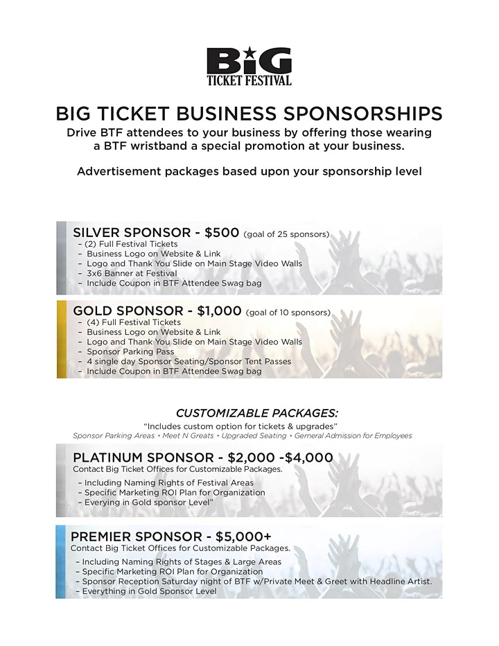BTF2020 Sponsorship image