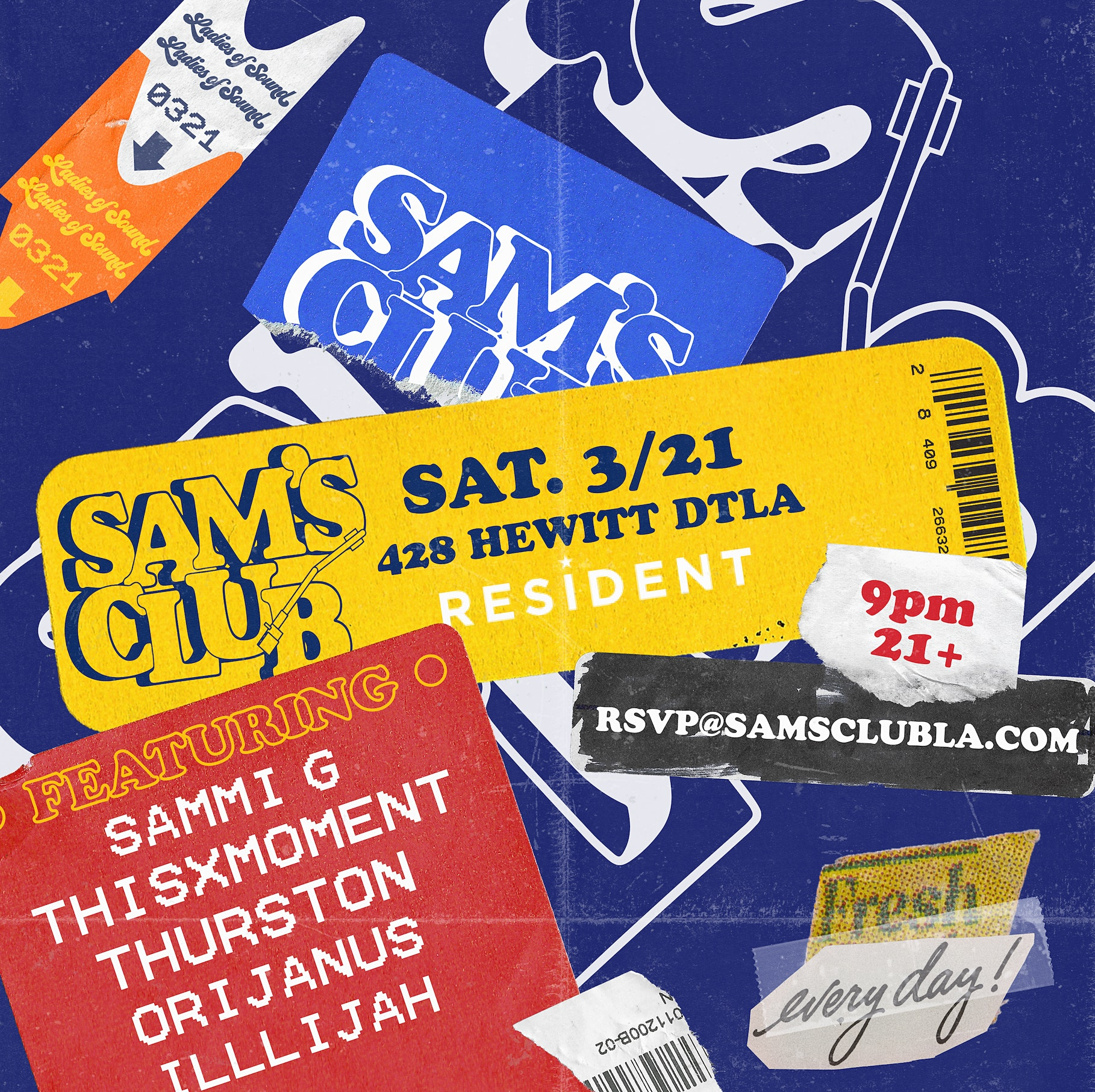 Cancelled // Sam's Club • DJs x Live Beats