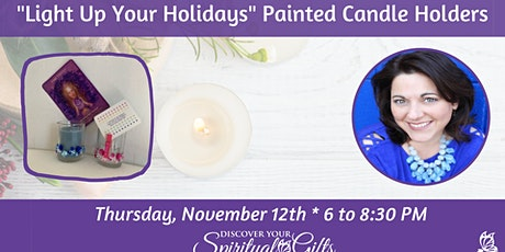 """ARTShop - """"Light Up Your Holidays"""" Painted Candle Holders tickets"""