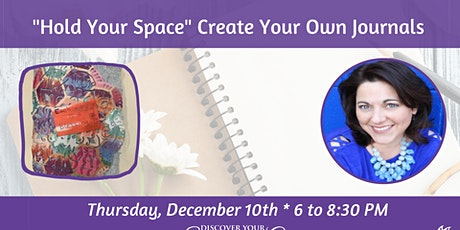 "ARTShop - ""Hold Your Space"" Create Your Own Journals tickets"