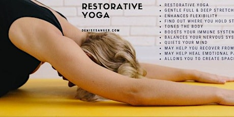 Restorative Yoga Session tickets