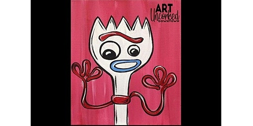 ALL AGES Class -  Forky!  (03-07-2020 starts at 1:00 PM)