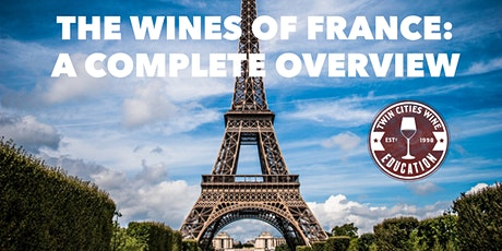 The Wines of France: A complete overview of key regions tickets