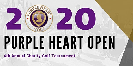 2020 Purple Heart Open: Charity Golf Tournament tickets