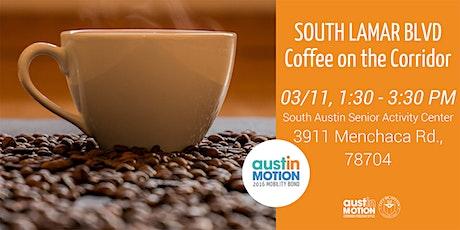 South Lamar Boulevard Coffee on the Corridor tickets