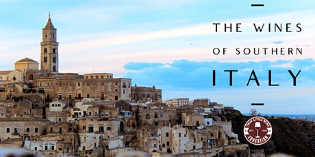 The Incredible and Overlooked Wines of Southern Italy tickets