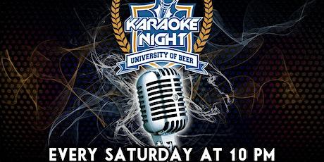 Karaoke Night | University of Beer -  Sacramento tickets