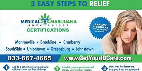 Medical Marijuana Certifications and Renewals - SOUTH SIDE tickets