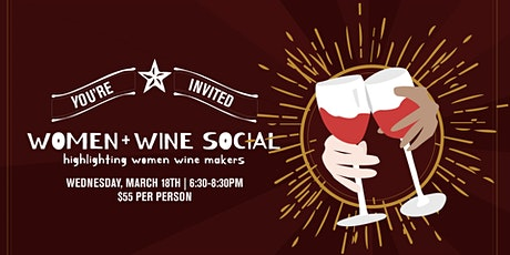 Women in Wine Dinner tickets
