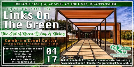 """""""Links on the Green""""  The Art of Green Living and Giving tickets"""