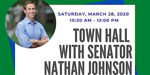 Senator Nathan Johnson's Town Hall
