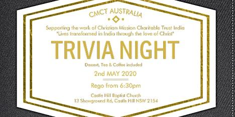 CMCT Australia Trivia Night 2020