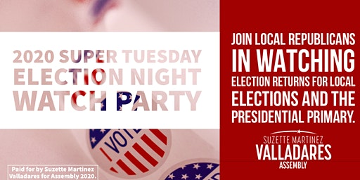 Super Tuesday Election Watch Party