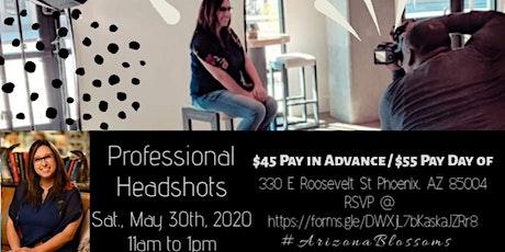 Professional Headshots May 30th, 2020 tickets