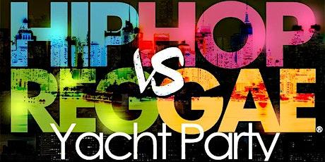 NYC Hip Hop vs. Reggae ® Yacht Party at Skyport Marina Cabana Yacht 2020 tickets