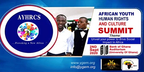 African Youth Human Rights and Culture Summit tickets