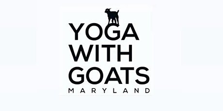 Yoga With Goats - Maryland  on  Saturday, 5/2 at 11:30am tickets