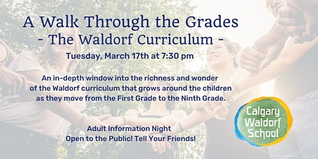 A Walk Through the Grades - The Waldorf Curriculum tickets