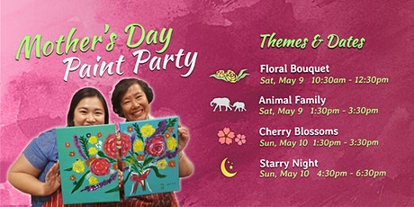Mother's Day Step-by-Step Painting Party tickets