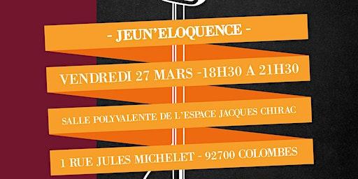 JEUN'ELOQUENCE #Colombes