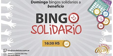 BINGOS SOLIDARIOS  - Todos los domingos entradas