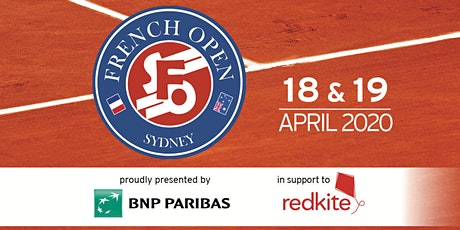 2020 Sydney French Open tickets