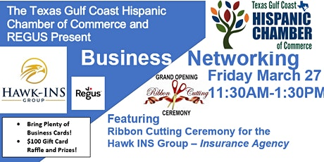 Business Owners Networking Event - Feat. Hawk INS Group, LLC Ribbon Cutting tickets