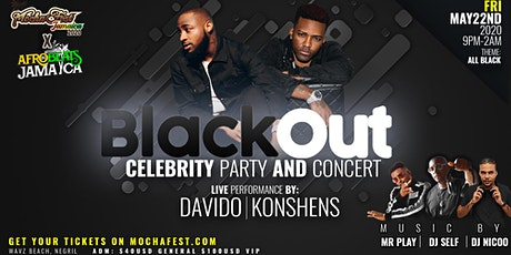 BLACK OUT By Mocha Fest tickets