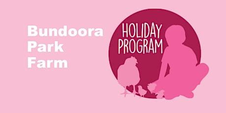 Bundoora Park Farm Holiday Program Autumn 2020 tickets
