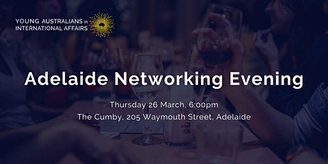YAIA Networking Evening - Adelaide tickets