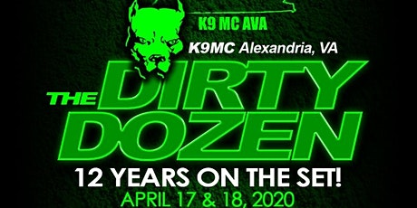 12th Annual K9 AVA Anniversary Weekend tickets