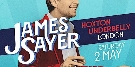 James Sayer - London tickets