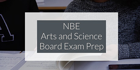 NBE Arts and Science Board Exam Prep tickets