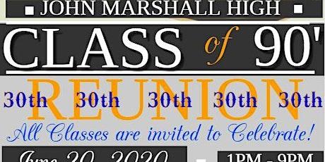 John Marshall Class of 90 30th Reunion! tickets