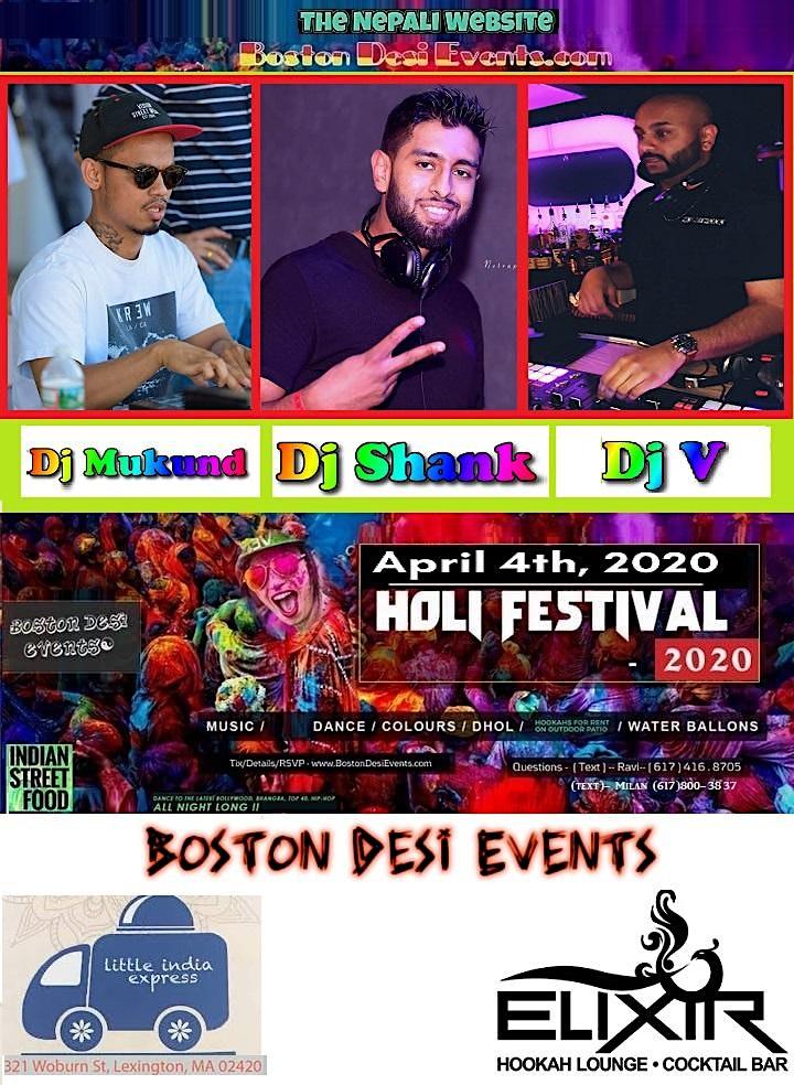 Holi Hai Fest - Color Dance - 2020 - 4/4 image