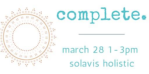 complete: self-care workshop