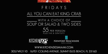 CRAB MANIA - All you can eat King Crab tickets