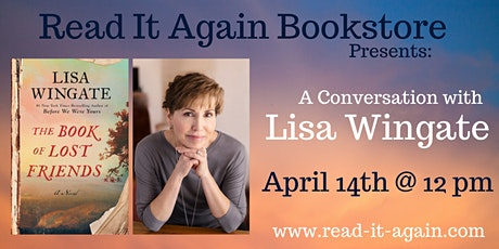 A Conversation with Lisa Wingate- Online Event! tickets