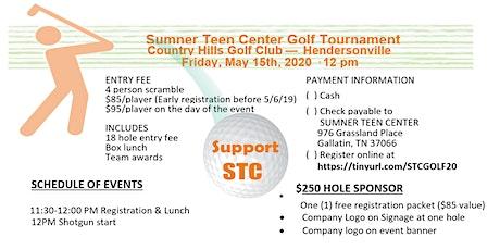 Sumner Teen Center Golf Scramble tickets