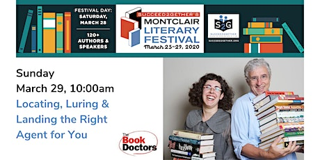 The Book Doctors – Locating, Luring & Landing the Right Agent For You tickets