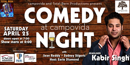 Campovida Comedy Night Returns