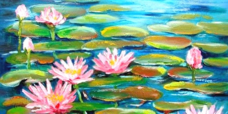 Sip and Paint Workshop 'Lotus Lake'  tickets