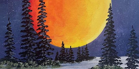 Sip and Paint Workshop 'Midnight Glow' tickets