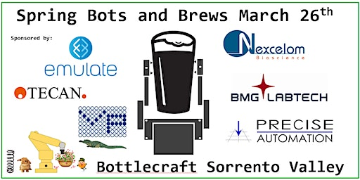 Bots and Brews (Spring): A Lab Automation Networking Event