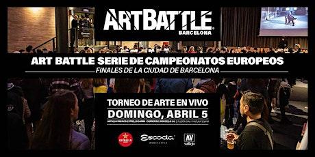 Art Battle Finales de la Ciudad de Barcelona - 5 de abril, 2020 entradas